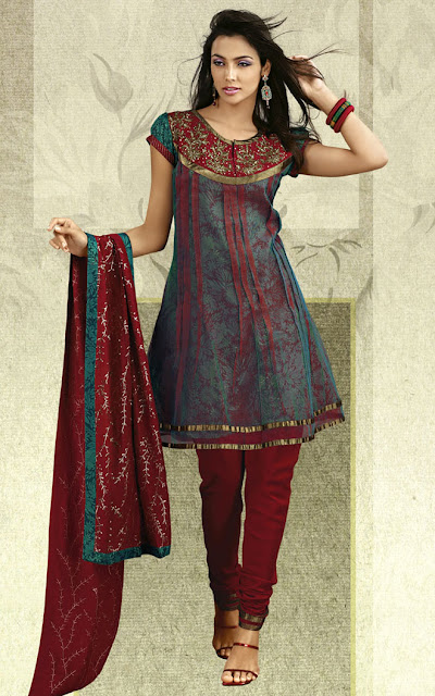 Anarkali-Churidaar-Collection-2012