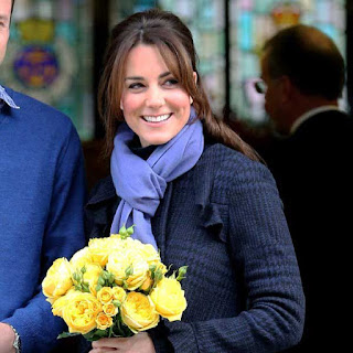 Model Poni rambut Kate Middleton