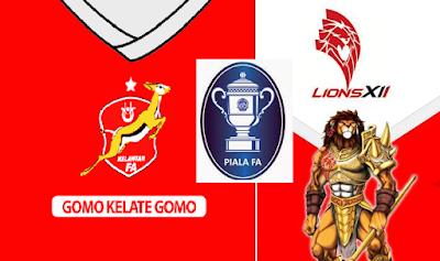 Kelantan Vs Lions XII Final Piala FA 2015