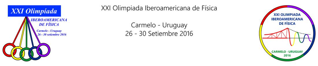 XXI OIbF - Uruguay 2016
