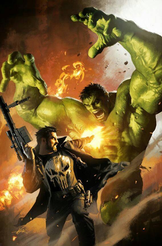 Justiceiro x Hulk
