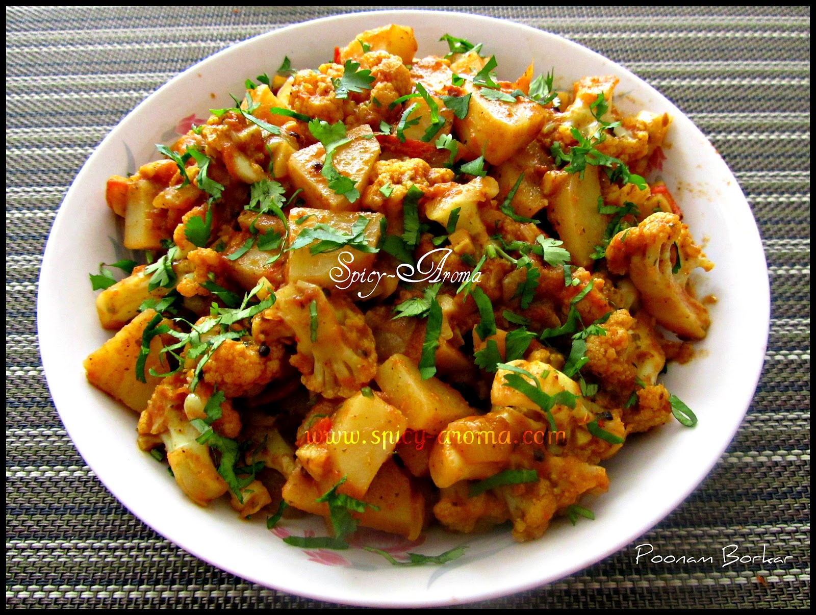 Aloo Gobi | Spicy-Aroma
