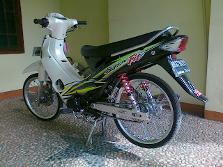 Modifikasi MotorSupra X 2014