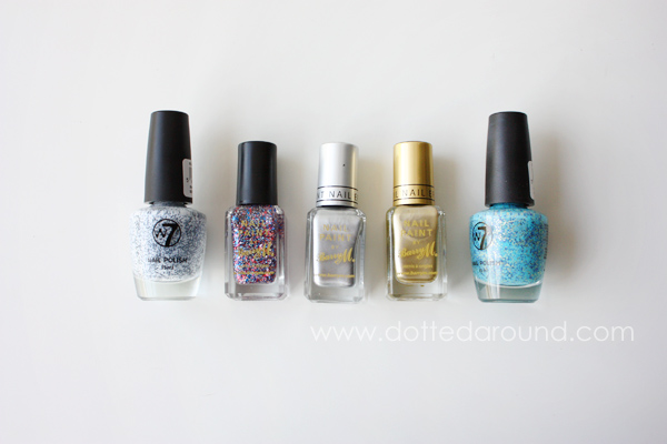 nail polish direct haul Barry M W7 nail polish