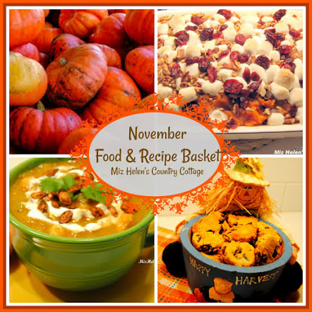 November Food and Recipe Basket