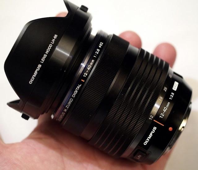 Fotografia dello zoom Olympus 12-40mm f/2.8