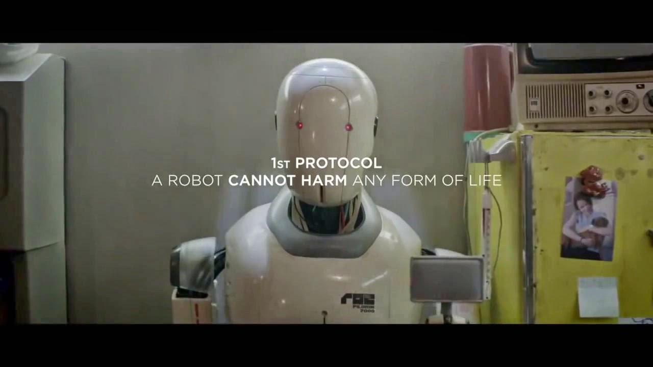 1er protocolo: un robot no puede herir ninguna forma de vida