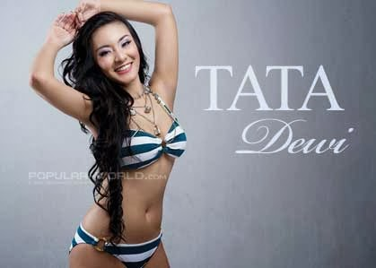 Tata Dewi, Model Popular-World Maret 2014
