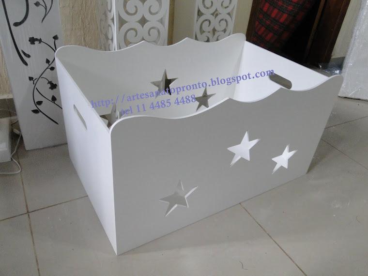 Caixa presente estrela