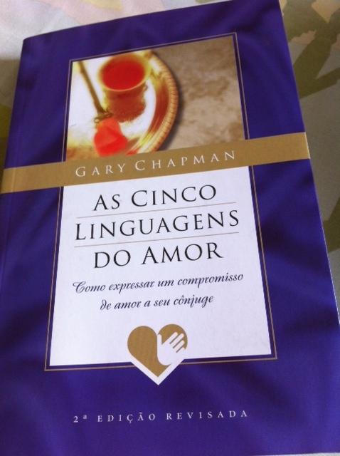 """COZINHA DA MONICA: Resenha de livro: """"As cinco linguagens"""