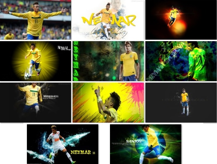 Download Neymar HD wallpapers