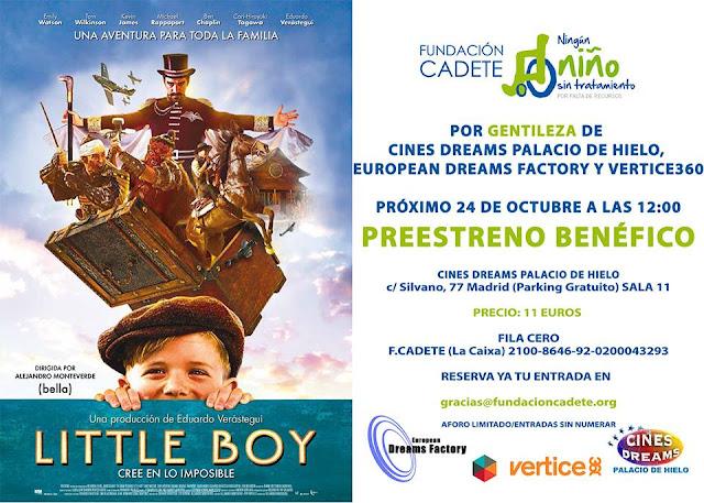 Preestreno benéfico de 'Little Boy' de Alejandro Monteverde
