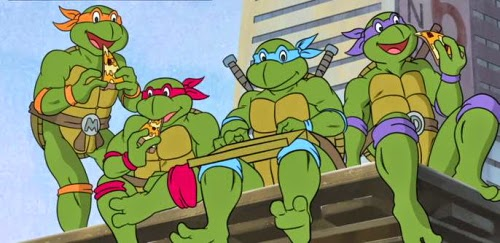 ... das Tartarugas Ninja