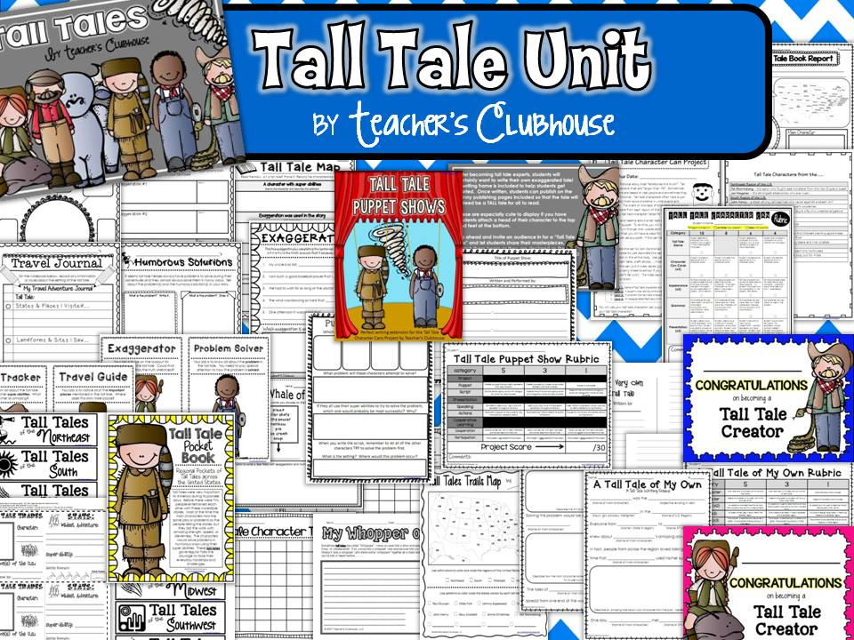 tall tale book report