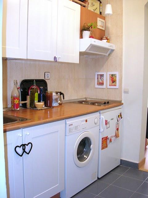 Naifandtastic decoraci n craft hecho a mano - Amueblar cocina pequena ...