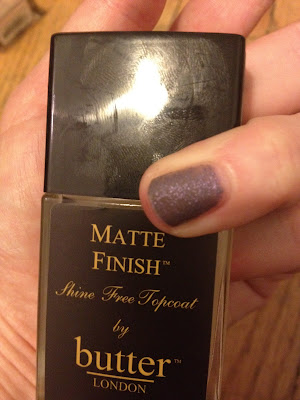 butter LONDON, butter LONDON nail polish, butter LONDON topcoat, butter LONDON Matte Finish Shine Free Topcoat, matte nails, matte nail polish, matte topcoat, nails, nail polish, polish, lacquer, nail lacquer, topcoat, top coat