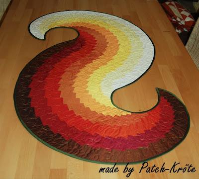 patch kr tes welt spiraltischl ufer passend zum herbst. Black Bedroom Furniture Sets. Home Design Ideas