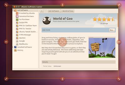 Ubuntu Unity Grab Handles