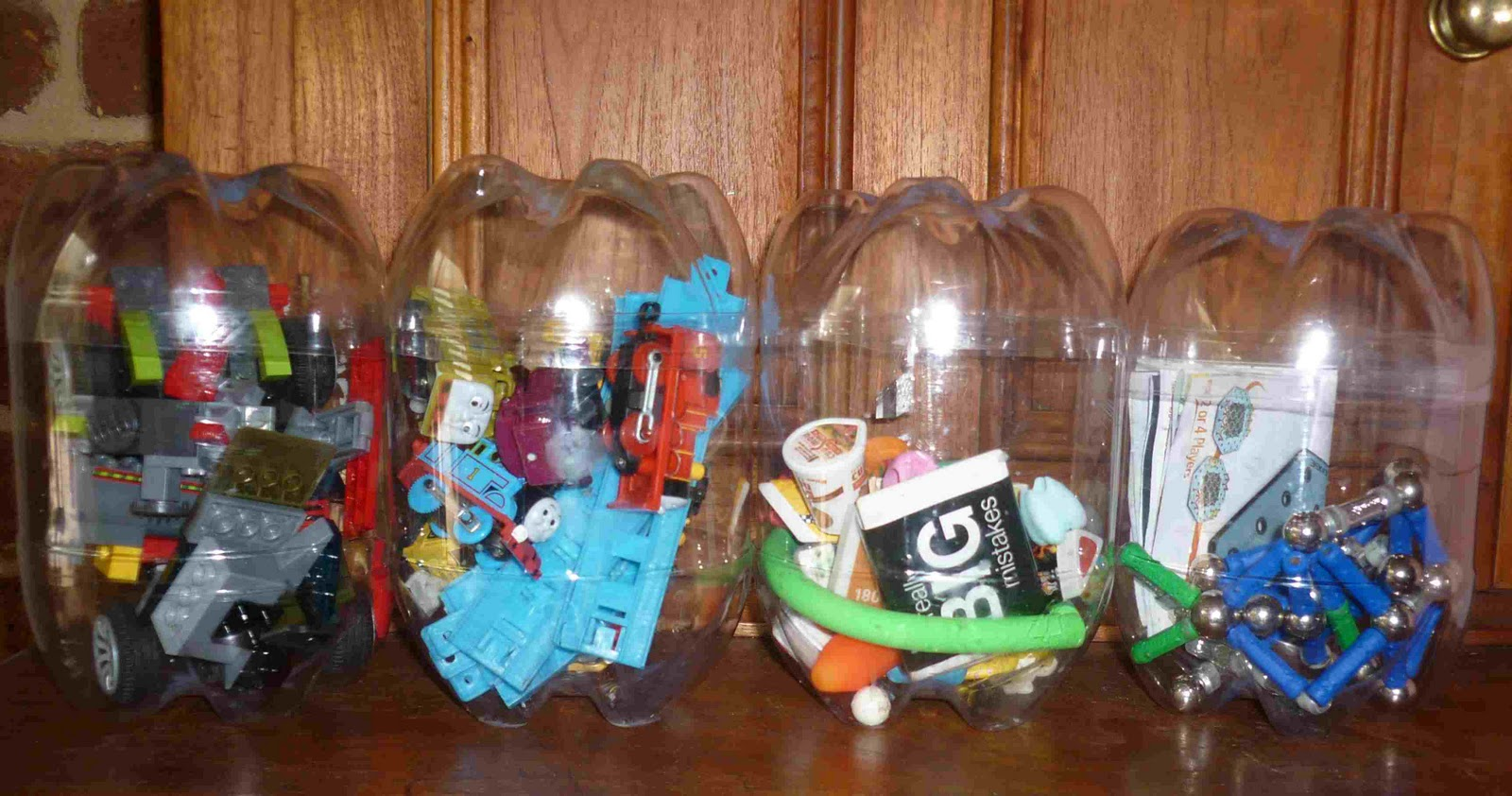 Поделки для гаража из пластиковых бутылок 95