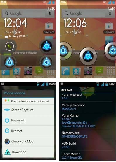 Ultimate Super Sonic ROM v5 for Samsung Galaxy Y With Jelly Bean Taste