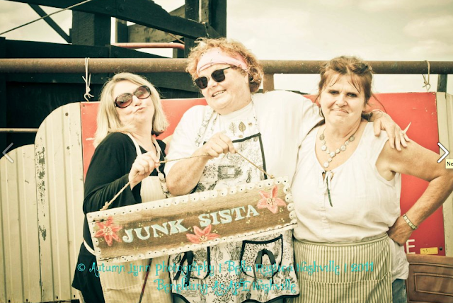 Junkin' Patsy makin' good trouble at Bella Rustica, via Funky Junk Interiors