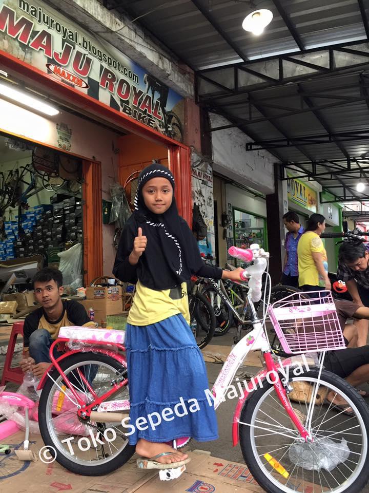 Toko Sepeda Online Majuroyal: Sepeda Anak-anak Remaja