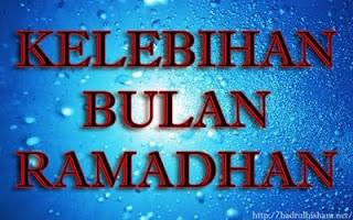 Kelebihan Bulan Ramadhan