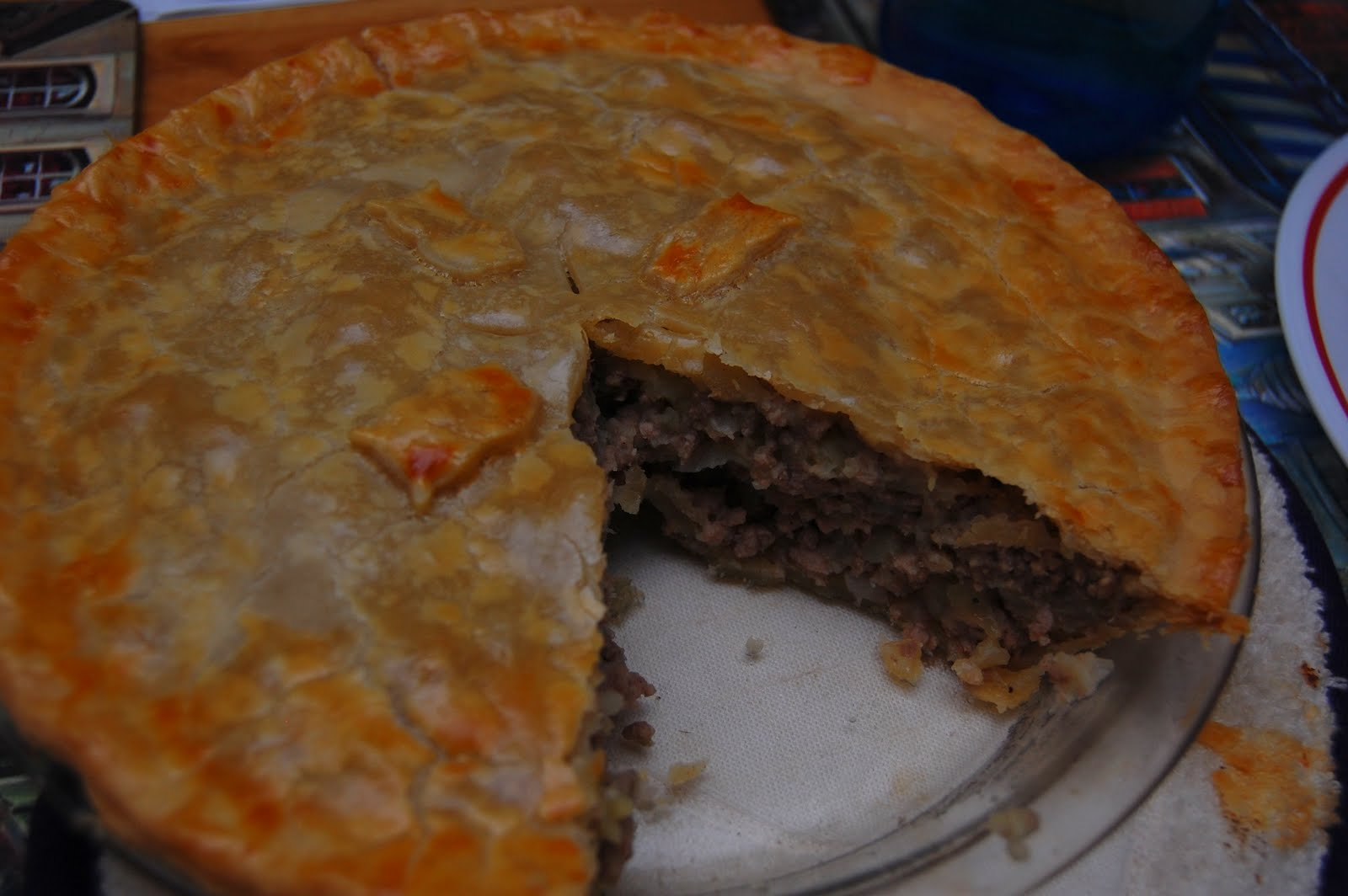 Pin Traditional French Meat Pie Recipe Image Search Results on ...
