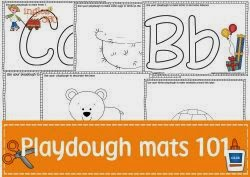 Just playdough mats?
