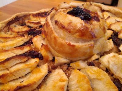 apple tart, Italian apple tart, home made apple tart