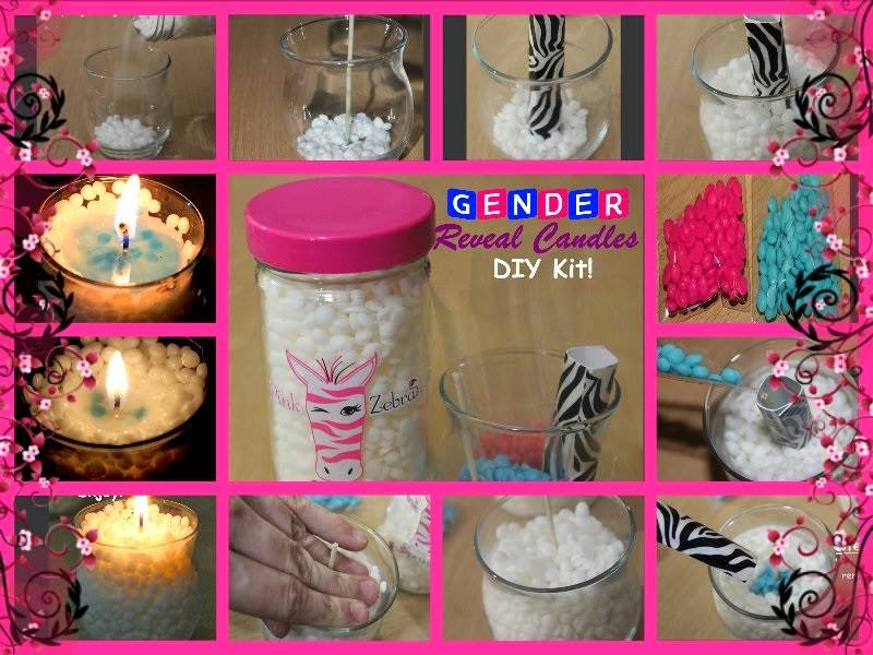 Gender Reveal Candles Image