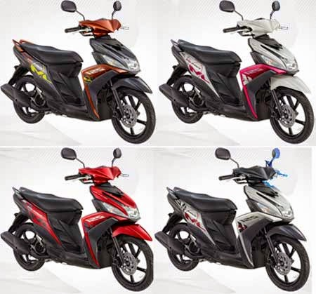 Pilihan Warna Yamaha Mio M3