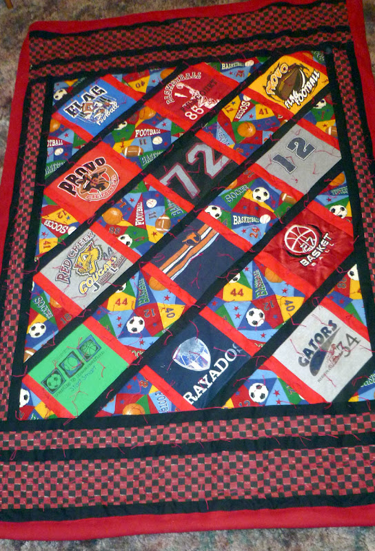 Quilts N Quirks T Shirt Memory Quilts Step By Step