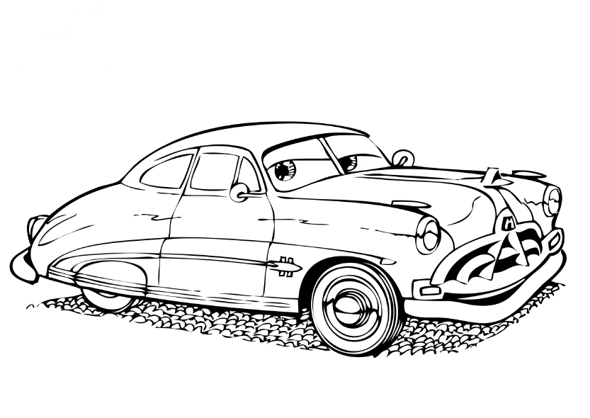 Free Coloring Pages Disney Cars For Kids