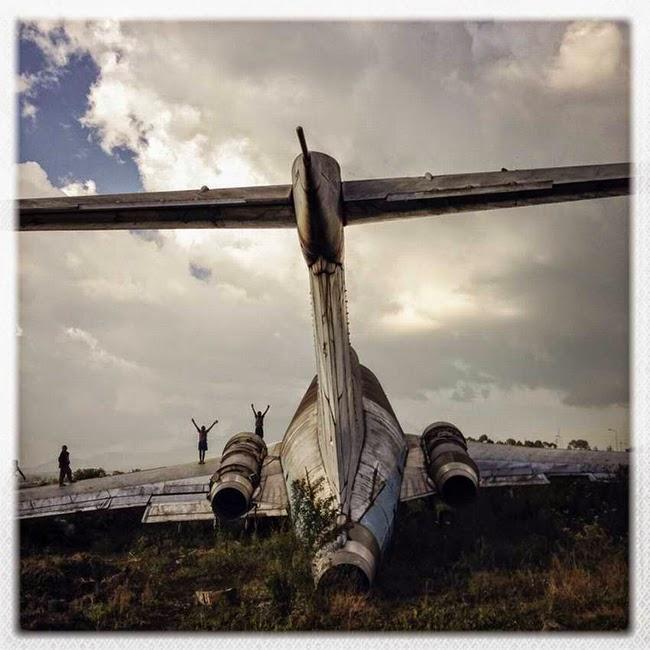 Cementerio de aviones congoleño