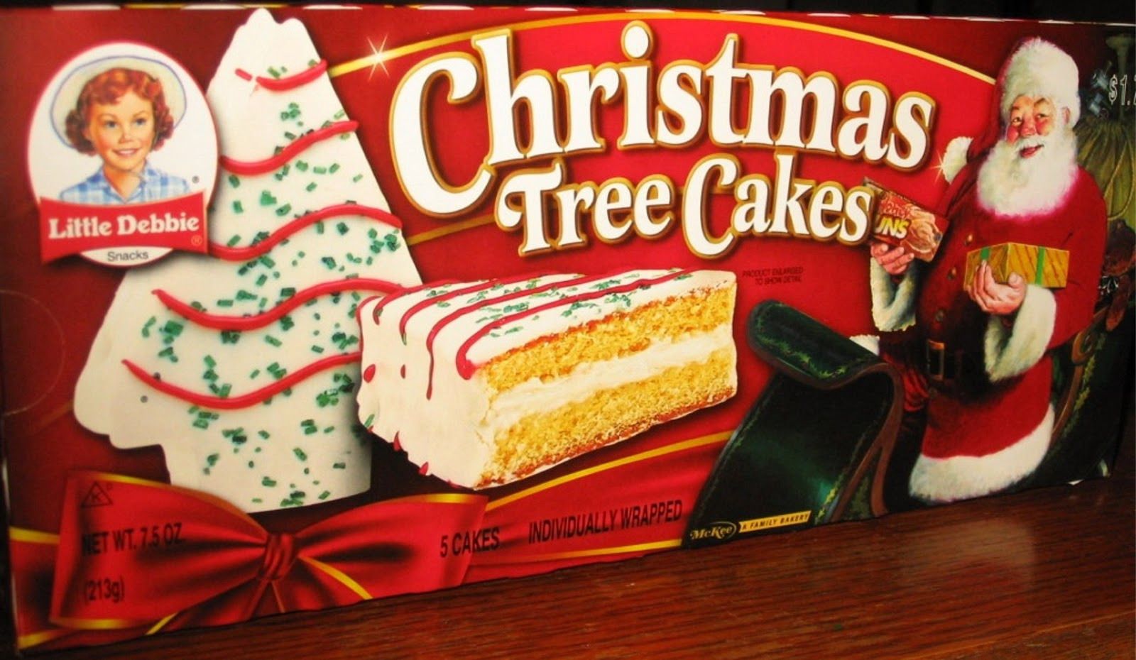 christmas little debbie