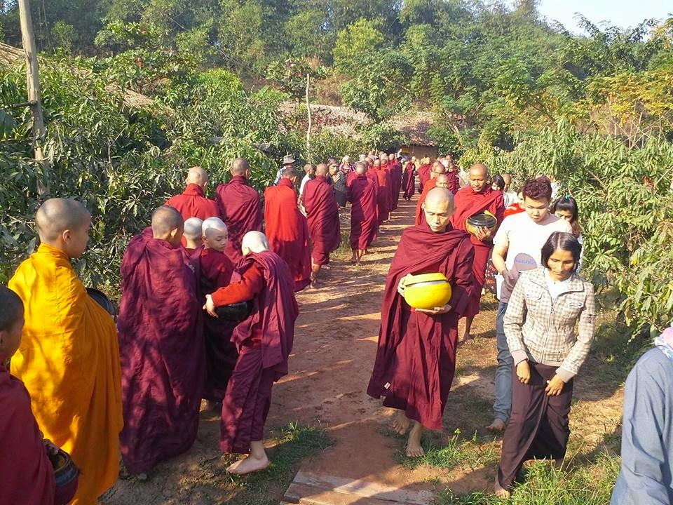 thabarwa  yangon  rangon  kamma  karma  compassion  lovingkindness  metta  sympatheticjoy  ambulance  engagedbuddhism  conciousness  awareness  sick  patients  disables   deeds
