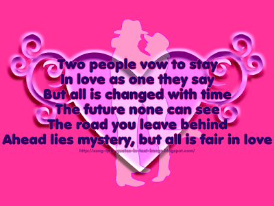 All In Love Is Fair - Barbra Streisand Song Lyric Quote in Text Image