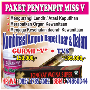 Paket Obat Perapat Vagina