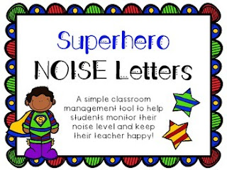 https://www.teacherspayteachers.com/Product/Superhero-NOISE-Letters-2102099