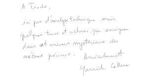 dédicace trado par Yannick Colleu