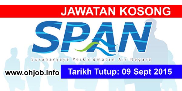 Jawatan Kerja Kosong Suruhanjaya Perkhidmatan Air Negara (SPAN) logo www.ohjob.info september 2015