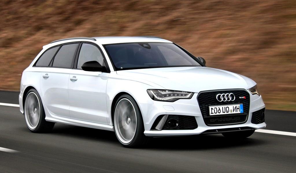 2014 Audi RS6 Avant Front Wallpaper