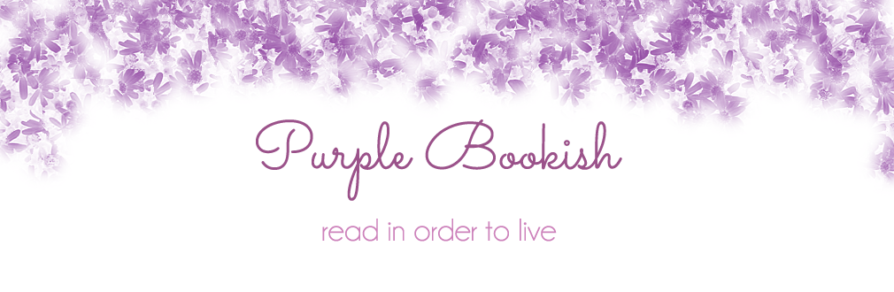 purple bookish