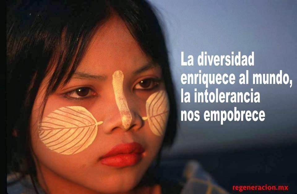 A diversidade enriquece o mundo...