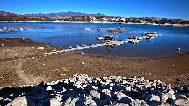 History los angeles county for your reading viewing for Cachuma lake fishing