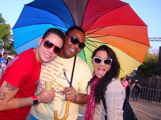 Em 2012, 4ª edição levou aproximadamente 10 mil pessoas as ruas da Ceilândia/DF (Foto: Hernanny Queiroz/Arquivo/Gay1)