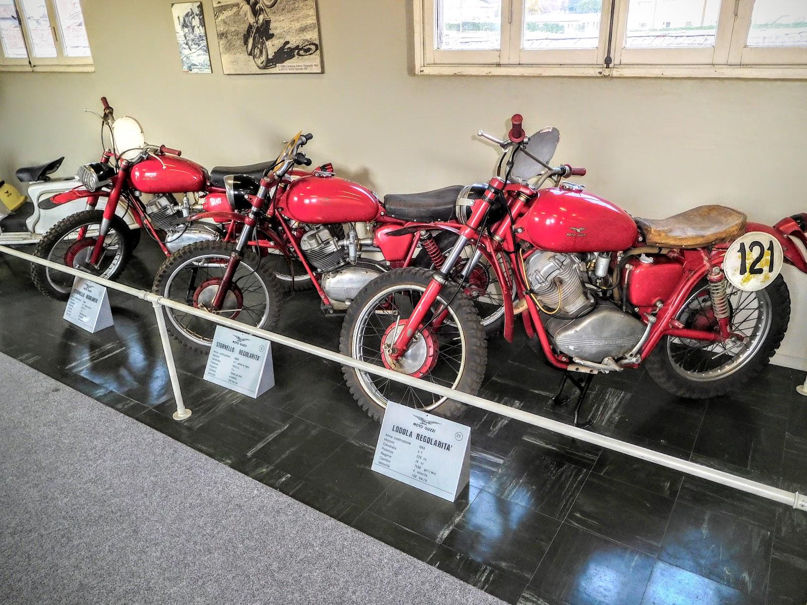 Tigho NYDucati: 1960 Moto Guzzi Stornello Regolarita