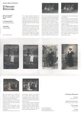 Maria Anna Giordano, Il passato Ritrovato