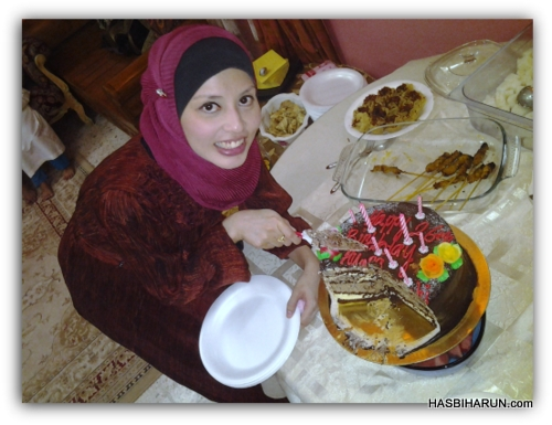 Happy Belated Birthday Adibah Karimah drp Hasbi Premium Beautiful